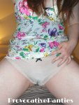 *Sale* Cream thong - £6
