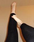 Well worn footless tights -  £10 for 24hrs, £13 for 48hrs, £18 for 72hrs, £35 for 1 week wear