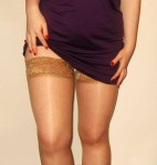 Well worn tan stockings - £15 for 24hrs, £18 for 48hrs, £25 for 72hrs, £40 for 1 week wear