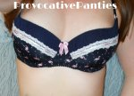 Flamingo print bra and panties - £22