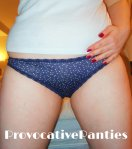 Blue spotted panties - £14